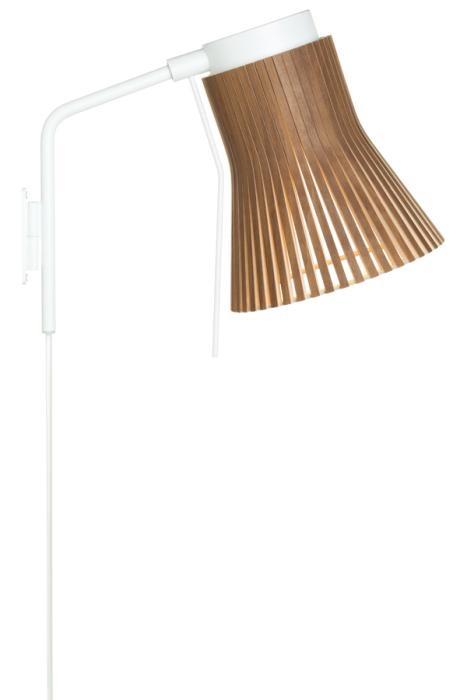 Secto Design Petite 4630 walnuss mit Steckerzuleitung