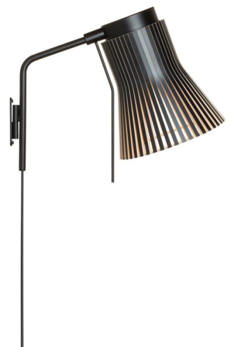 Secto Design Petite 4630 schwarz mit Steckerzuleitung