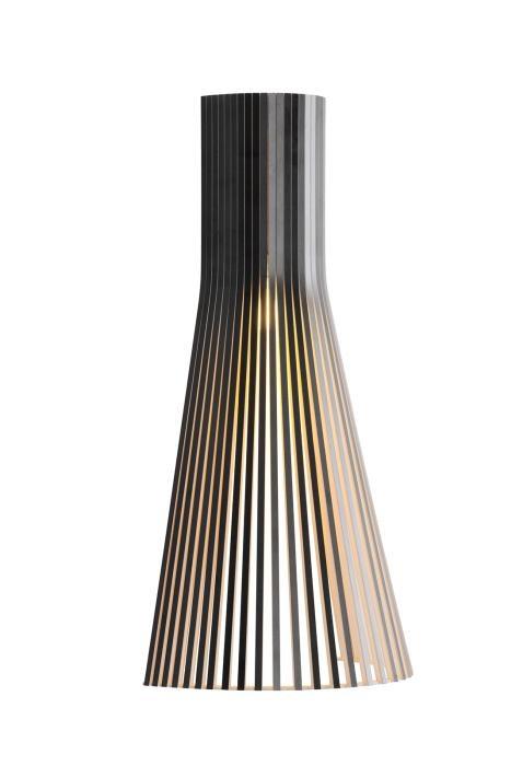 Secto Design Secto 4230 schwarz mit direkter Wandmontage