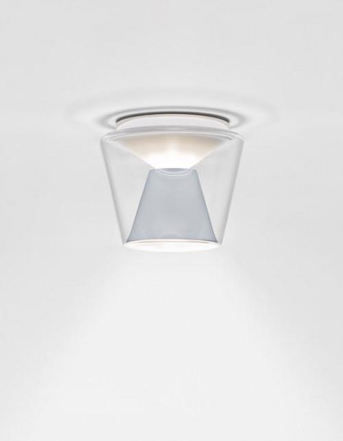 Serien Lighting Annex Ceiling LED klar/ Aluminium Large