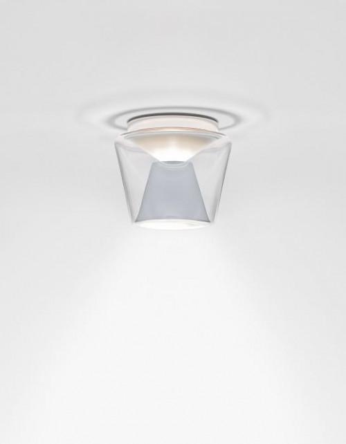 Serien Lighting Annex Ceiling LED klar/ Aluminium Medium