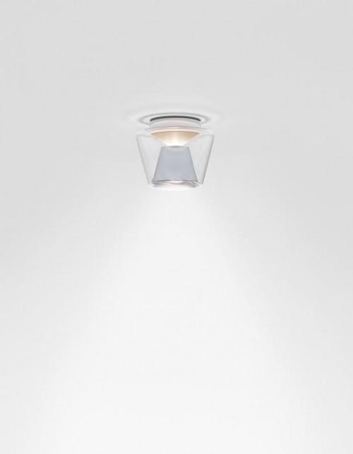 Serien Lighting Annex Ceiling LED klar/ Aluminium Small