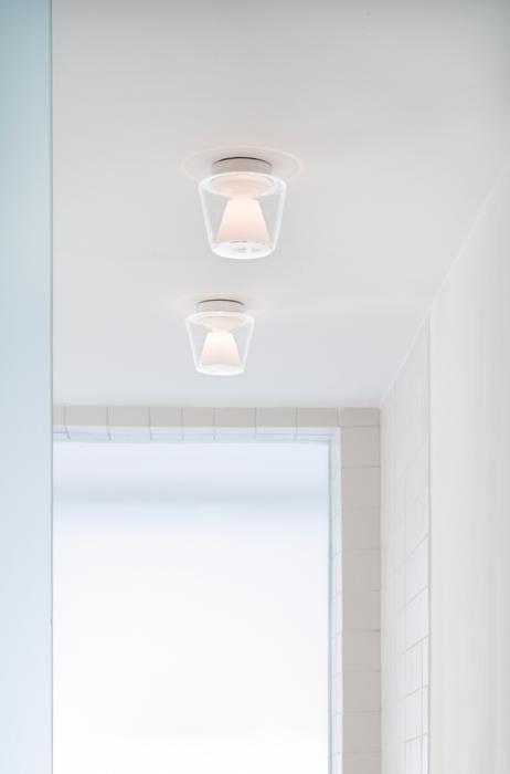 Serien Lighting Annex Ceiling Halogen Klar/ Opal Medium
