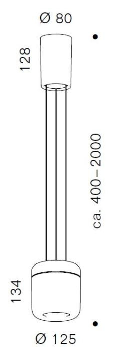 Serien Lighting Cavity Suspension L Grafik