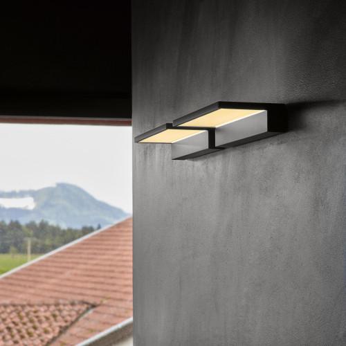 Serien Lighting Crib IP44 schwarz