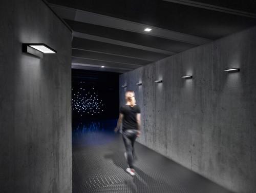 Serien Lighting Crib schwarz