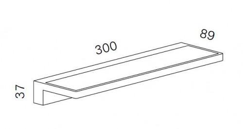 Serien Lighting Spiegeladapter Set für Crib und Crib IP44