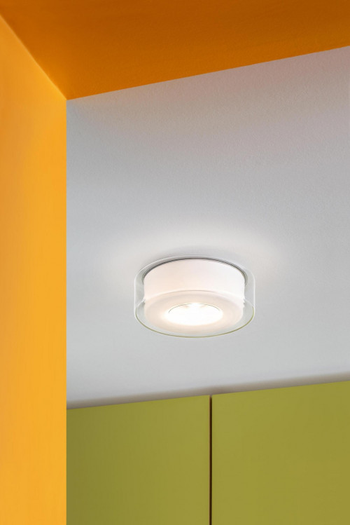 Serien Lighting Curling Ceiling klar/ zylindrisch opal