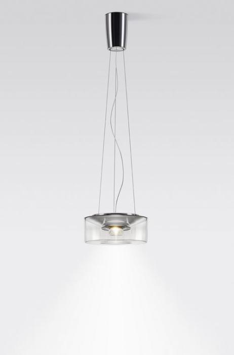 Serien Lighting Curling Suspension Rope Acryl klar M