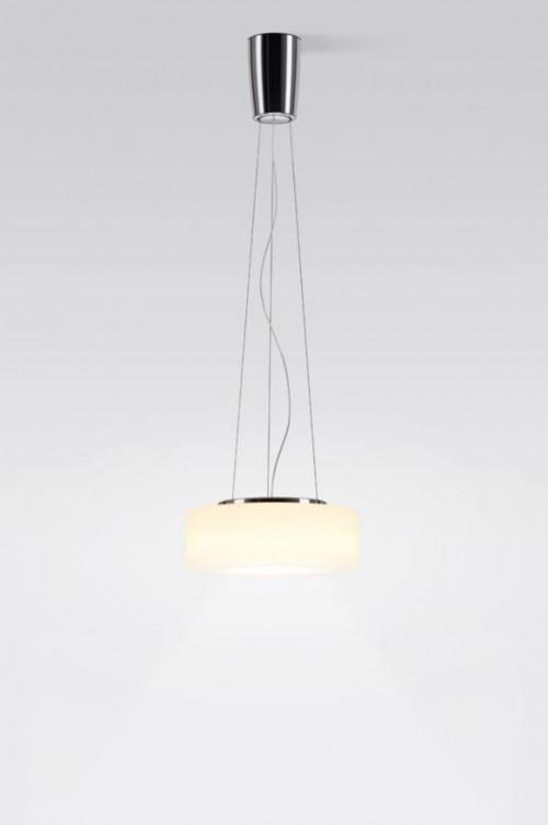 Serien Lighting Curling Suspension Rope LED opal