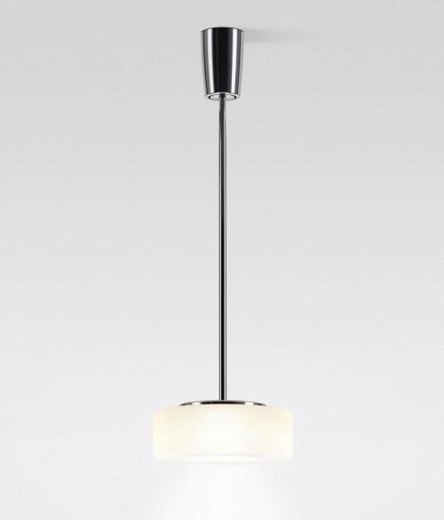 Serien Lighting Curling Suspension Tube LED opal
