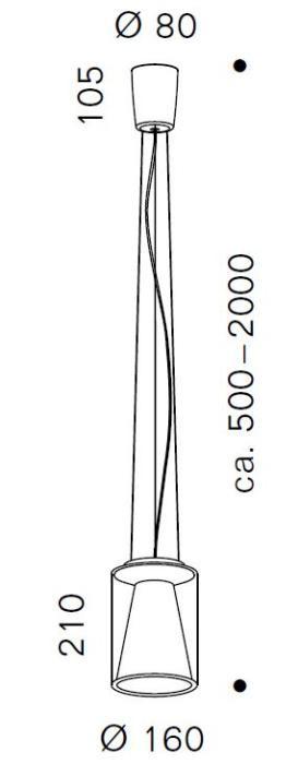 Serien Lighting Drum Suspension Rope S Long Grafik
