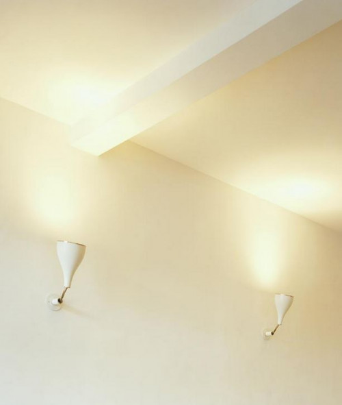 Serien Lighting One Eighty Ceiling/Wall Wandhalterung weiß