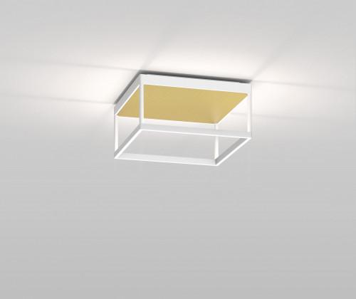 Serien Lighting Reflex2 Ceiling M150 ,Rahmenstruktur weiß-Reflektor gold