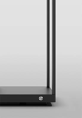 Serien Lighting Reflex2 Floor S Tastdimmer am Leuchtenfuß