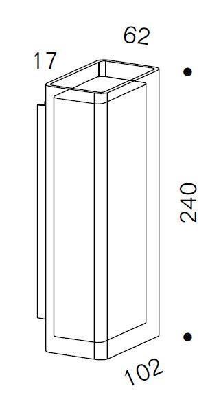 Serien Lighting Spiegeladapter Set für Rod