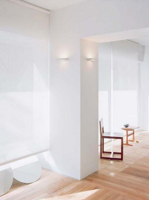 Serien Lighting SML Wall silber small Abdeckung satinee