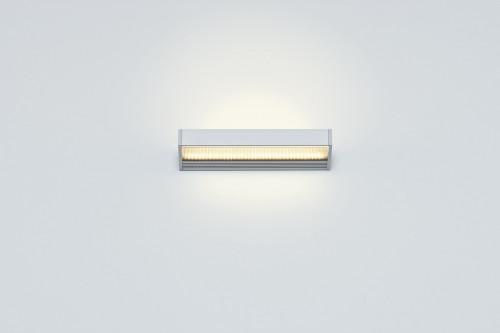 Serien Lighting SML2 Wall 220 Silber satinee / raster