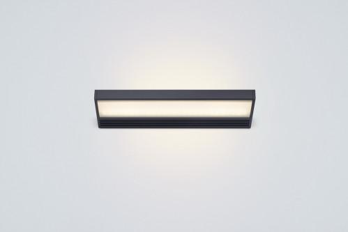 Serien Lighting SML2 Wall 300 Schwarz satinee / satinee