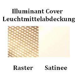 Serien Lighting SML2 Wall 600 Schwarz Abdeckung Farbtafel