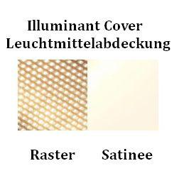 Serien Lighting SML2 Wall 600 Silber Abdeckung Farbtafel