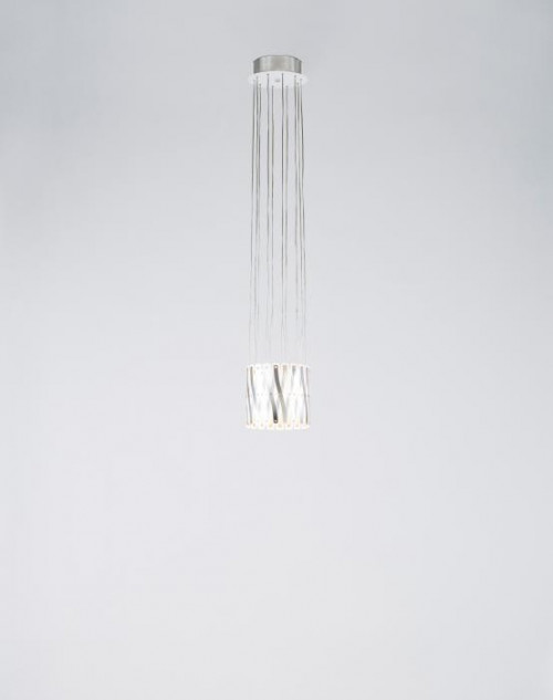 Serien Lighting Zoom 1 Element Edelstahl gebürstet