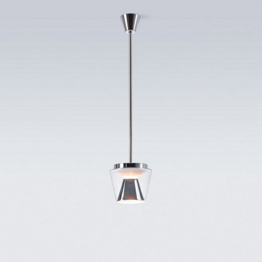 Serien Lighting Annex Suspension klar/ Aluminium