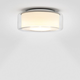 Serien Lighting Curling Ceiling klar/opal zylindrisch