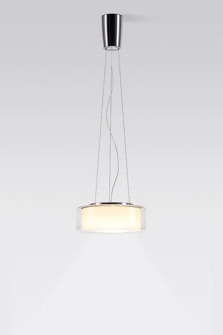 Serien Lighting Curling Suspension Rope LED klar/ zylindrisch opal