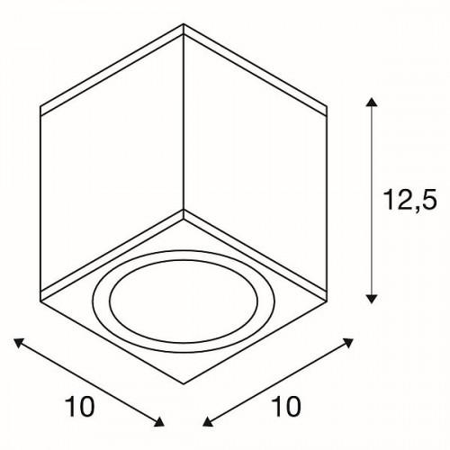 SLV Enola Square M CL Grafik