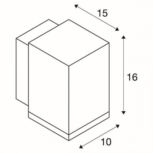 SLV Enola Square M WL single Grafik