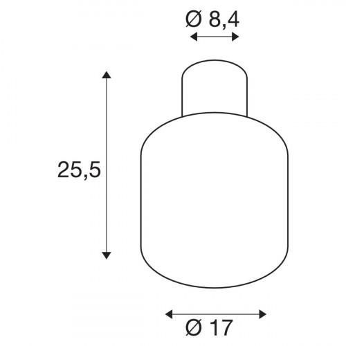 SLV Ovalisk CL Grafik