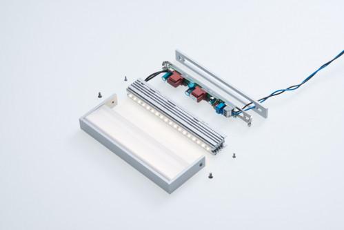 Abdeckplatte für SML LED Medium silber