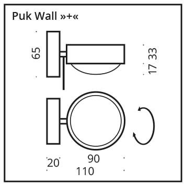 Top Light Puk Wall + Zubehör
