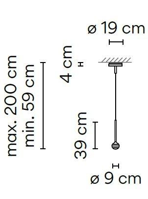 Vibia Algorithm 0820 Grafik