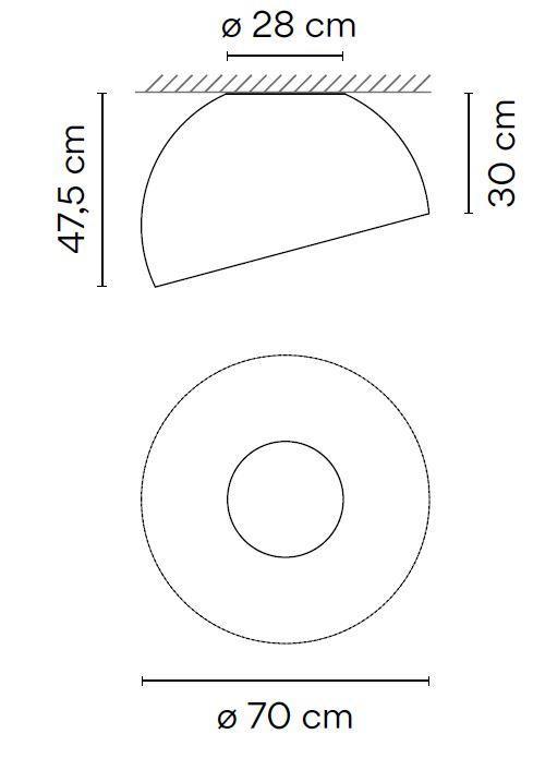 Vibia Duo 4880 Grafik