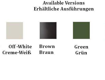 Vibia Fold Surface 4201 Farbtafel