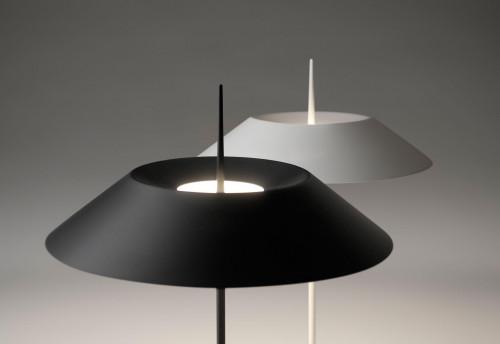 Vibia Mayfair 5515 Leuchtenschirme grau und weiß