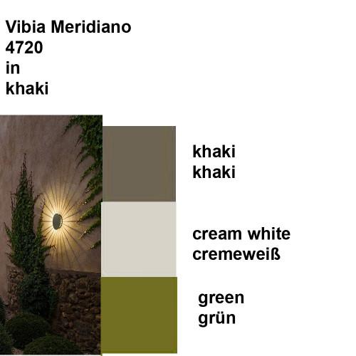 Vibia Meridiano 4720 Farben