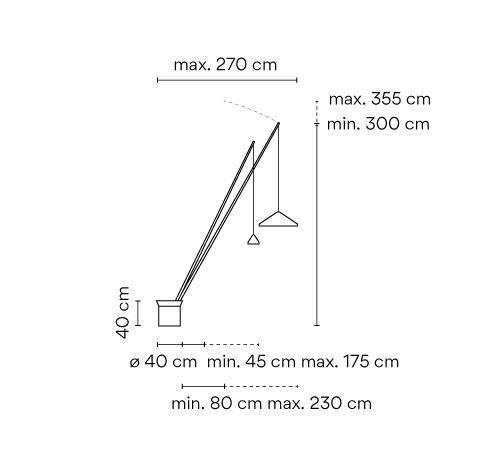Vibia North 5605 Grafik