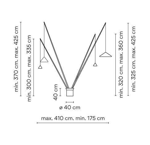 Vibia North 5625 Grafik