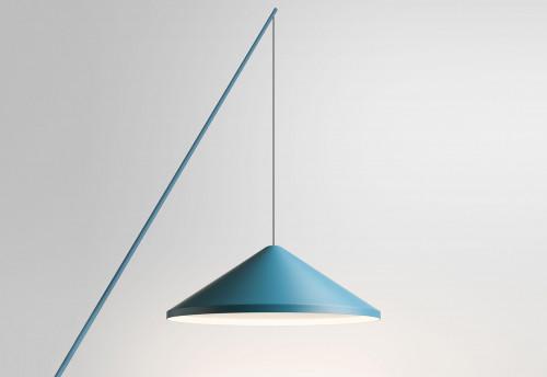 Vibia North 5630 Leuchtenschirm blau