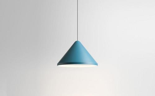 Vibia North 5642 Schirm blau, Durchmesser 40 cm