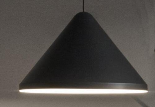 Vibia North 5642 Schirm grau, Durchmesser 40 cm