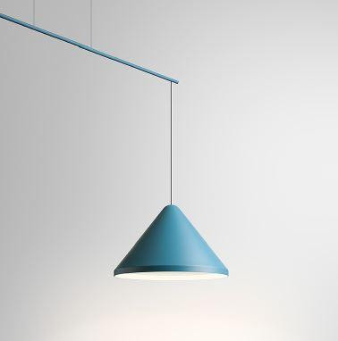 Vibia North 5672 blau, Durchmesser 40 cm