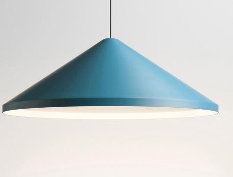 Vibia North 5674 Leuchtenschirm blau, Durchmesser 60 cm