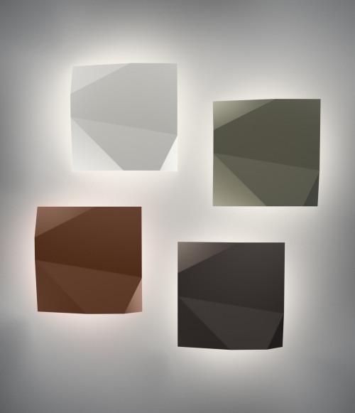 Vibia Origami 4500 weiß, grün, terra dark und braun