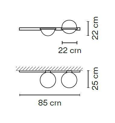 Vibia Palma 3702 Grafik