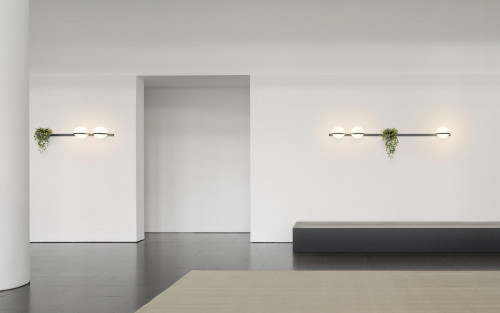 Vibia Palma 3706 graphit-grau (auf der rechten Seite)