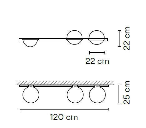 Vibia Palma 3704 Grafik